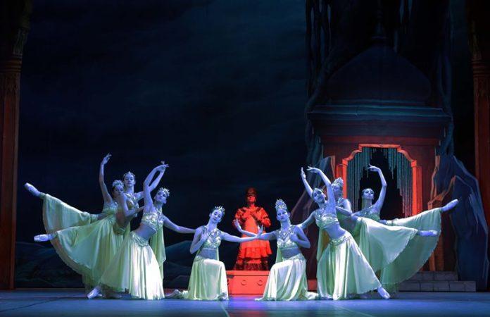Баядерка. Снимка: Бургаска опера
