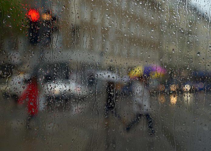 Дъжд, Снимката е илюстративна