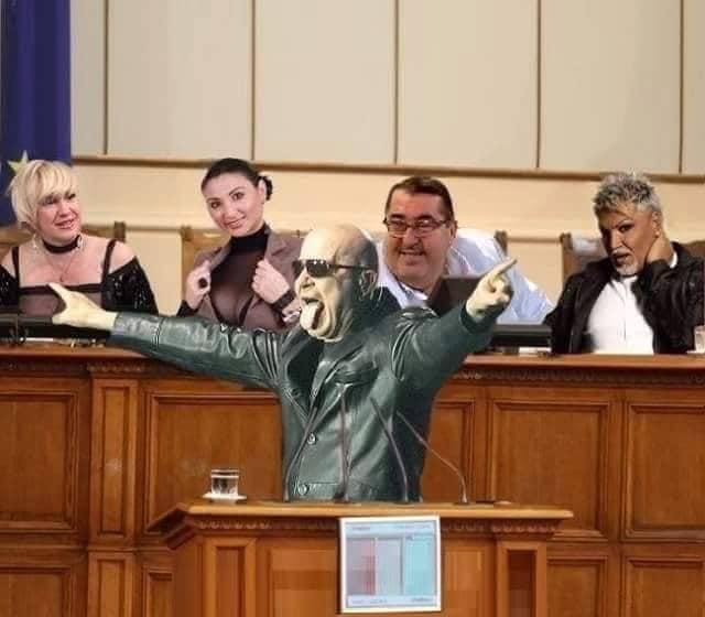 Слави Трифонов в Парламента