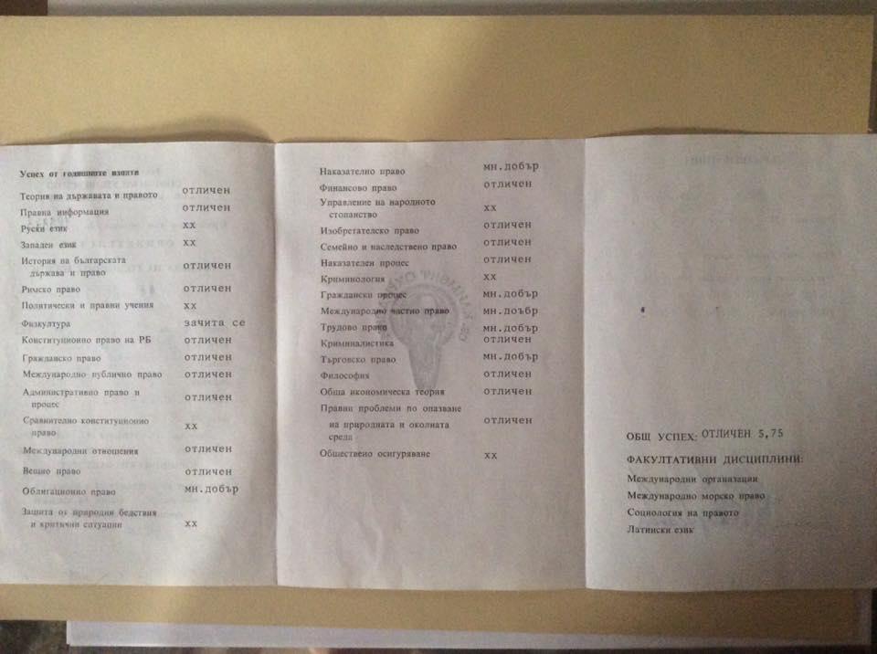 """Диплома на Данаил Кирилов. Снимка: Личен профил на Данаил Кирилов """"Фейсбук"""""""