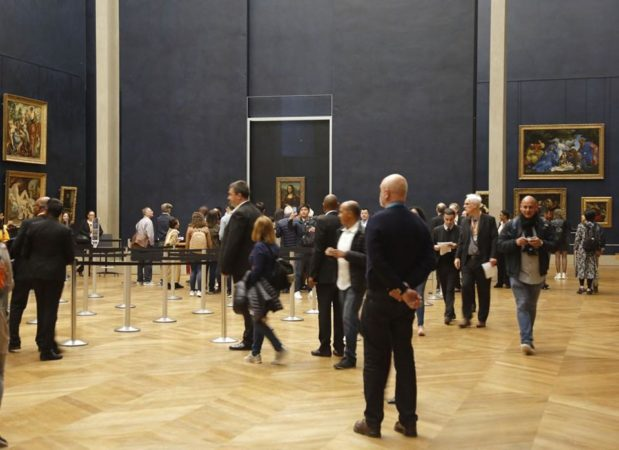 Лувъра. Снимка: Фейсбук, Musée du Louvre