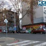 Катастрофа затрудни движението на кръстовището на бул. Сан Стефано и ул. Гладстон в Бургас