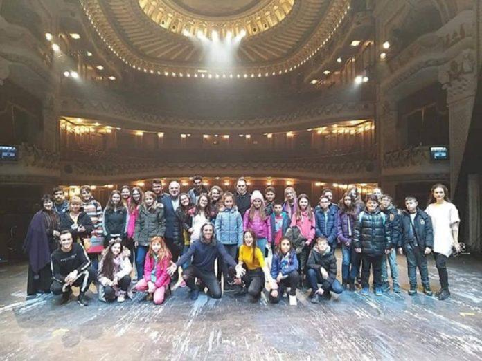 Учениците. Снимка: Софийска опера и балет