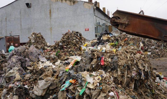 Боклук в ТЕЦ Сливен