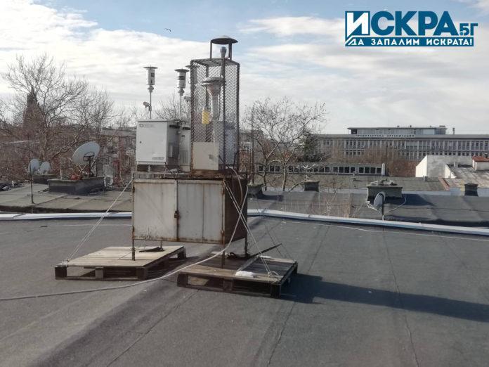 Измервателна станция за качеството на въздух
