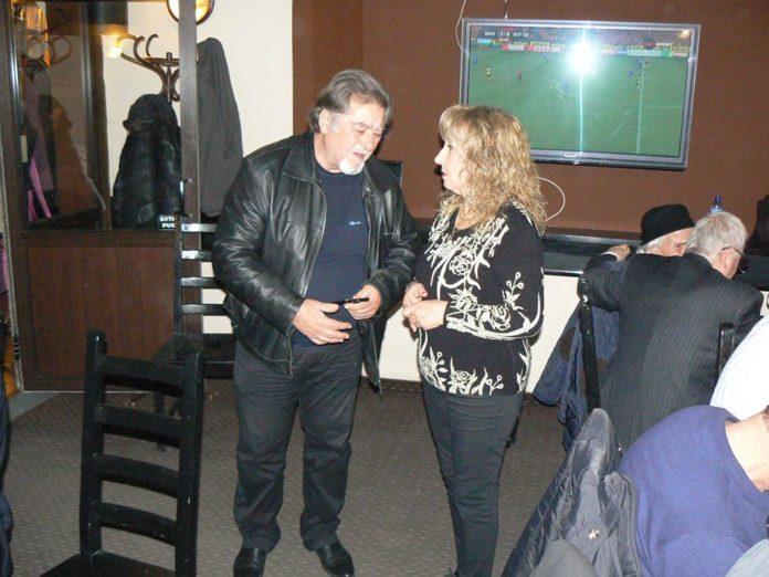 Димитър Лавчев и Донка Кожухарова. Снимка: Фейсбук, Николай Николаев